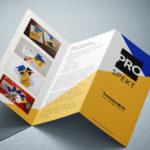 Изготовление буклетов и лифлетов по оптимальной цене в полиграфическом центре ПромАрт в Харькове