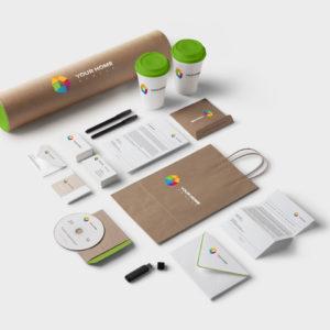 Печать брендовой продукции в цифровой типографии ПромАрт в Харькове