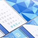 Печать квартальных календарей от 1 экземпляра до многотысячных тиражей в цифровой типографии ПромАрт в Харькове