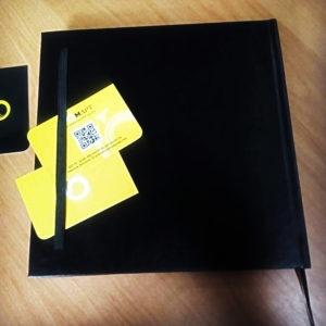 Черный скетчбук (sketchbook) для рисования купить в Харькове