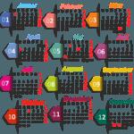 Креативные настенные календари по доступной цене